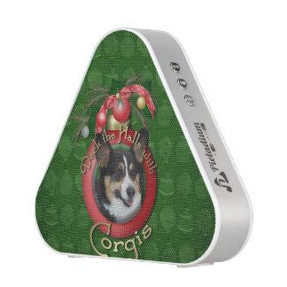Christmas - Deck the Halls - Corgi Bluetooth Speaker