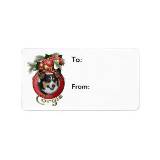 Christmas - Deck the Halls - Corgis Label
