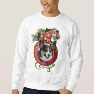 Christmas - Deck the Halls - Corgis Sweatshirt