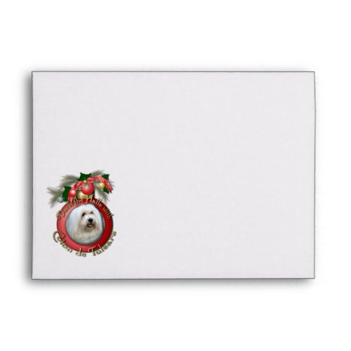 Christmas - Deck the Halls - Cotons Envelopes