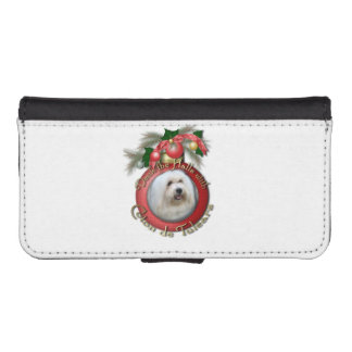Christmas - Deck the Halls - Cotons Phone Wallet Case