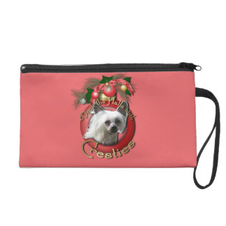 Christmas - Deck the Halls - Cresties Wristlet Clutches