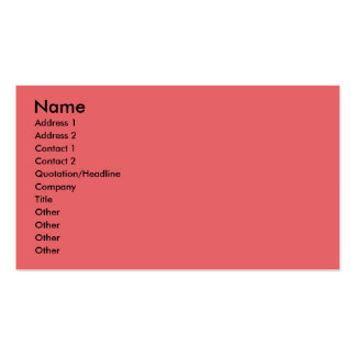 Christmas - Deck the Halls - Cresties Double-Sided Standard Business Cards (Pack Of 100)