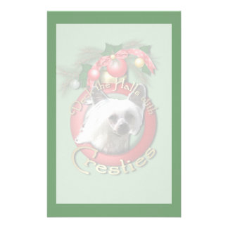 Christmas - Deck the Halls - Cresties Stationery Paper