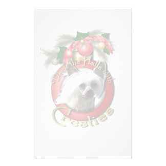 Christmas - Deck the Halls - Cresties Personalized Stationery