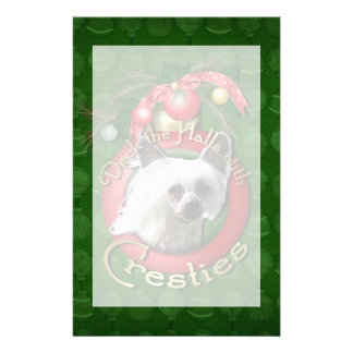 Christmas - Deck the Halls - Cresties Customized Stationery