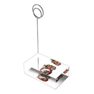 Christmas - Deck the Halls - Cresties Table Card Holder