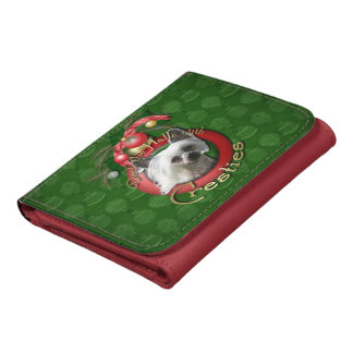 Christmas - Deck the Halls - Cresties Trifold Wallet