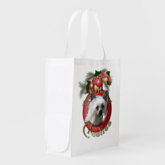 Christmas - Deck the Halls - Cresties Grocery Bags