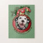 Christmas - Deck the Halls - Dalmatians Puzzle