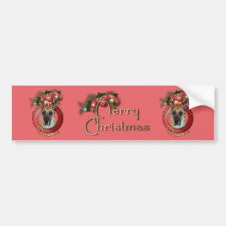 Christmas - Deck the Halls - Danes Bumper Stickers