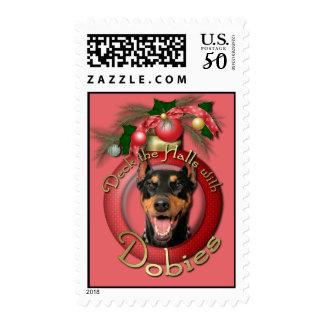 Christmas - Deck the Halls - Dobies - Megyan Postage