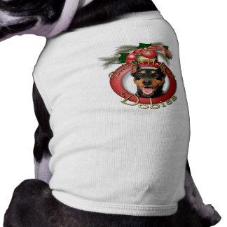 Christmas - Deck the Halls - Dobies - Megyan T-Shirt