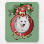 Christmas - Deck the Halls - Eskies Mouse Pad