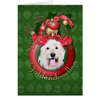 Christmas - Deck the Halls - GoldenDoodles - Daisy Card