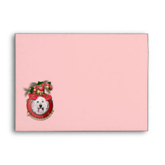 Christmas - Deck the Halls - GoldenDoodles - Daisy Envelope