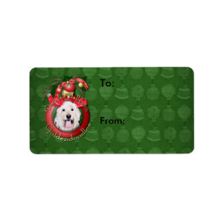 Christmas - Deck the Halls - GoldenDoodles - Daisy Label