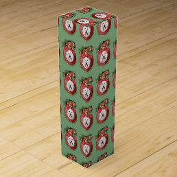 Christmas - Deck the Halls - GoldenDoodles - Daisy Wine Box