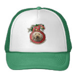 Christmas - Deck the Halls - Goldendoodles Trucker Hat