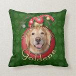 Christmas - Deck the Halls - Goldens - Corona Pillows