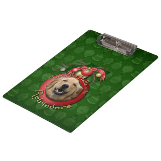 Christmas - Deck the Halls - Goldens - Mickey Clipboards