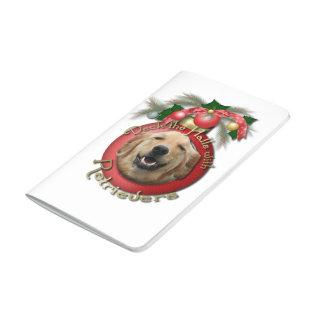 Christmas - Deck the Halls - Goldens - Mickey Journal
