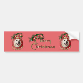 Christmas - Deck the Halls - Goldens - Tebow Bumper Stickers
