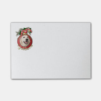 Christmas - Deck the Halls - Goldens - Tebow Post-it® Notes