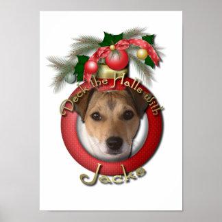 Christmas - Deck the Halls - Jacks Poster