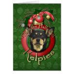 Christmas - Deck the Halls - Kelpies Cards