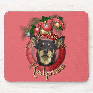 Christmas - Deck the Halls - Kelpies Mouse Pad