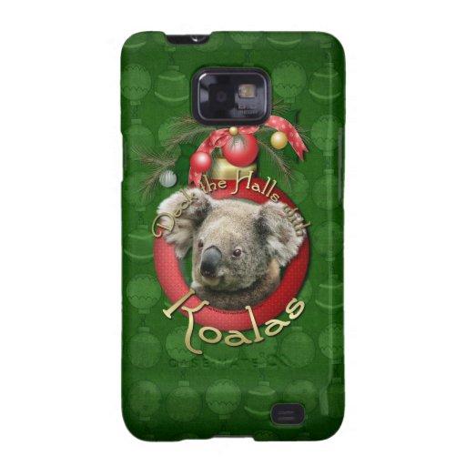 Christmas - Deck the Halls - Koalas Samsung Galaxy SII Cases