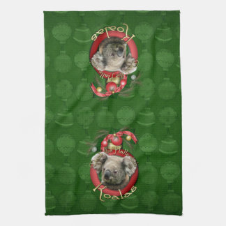 Christmas - Deck the Halls - Koalas Kitchen Towels