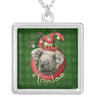 Christmas - Deck the Halls - Koalas Silver Plated Necklace