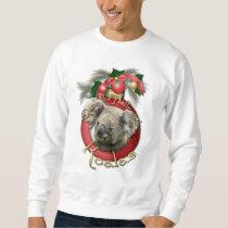 Christmas - Deck the Halls - Koalas Sweatshirt