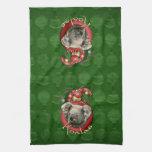 Christmas - Deck the Halls - Koalas Towel