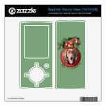 Christmas - Deck the Halls - Labrador - Chocolate Skins For The Sansa View