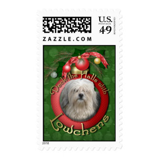 Christmas - Deck the Halls - Lowchens Stamps