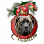 "Christmas - Deck the Halls - Mastiffs - Cyclone Statuette<br><div class=""desc"">Celebrate the Christmas Season with this Deck the Halls design using this Mastiff Dog!</div>"