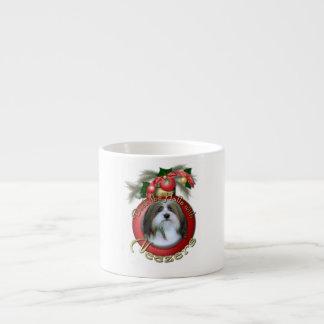 Christmas - Deck the Halls - Neezers 6 Oz Ceramic Espresso Cup