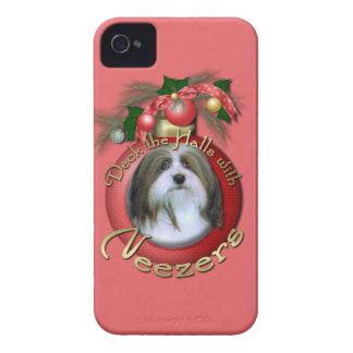 Christmas - Deck the Halls - Neezers iPhone 4 Case-Mate Case