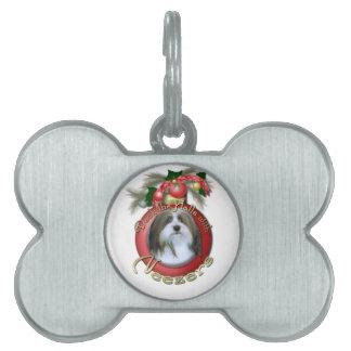 Christmas - Deck the Halls - Neezers Pet Tag