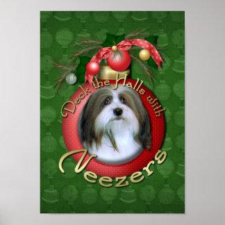 Christmas - Deck the Halls - Neezers Poster