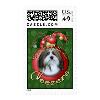 Christmas - Deck the Halls - Neezers Stamps