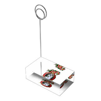Christmas - Deck the Halls - Neezers Table Card Holder