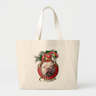 Christmas - Deck the Halls - Pitties - Jersey Girl Bags