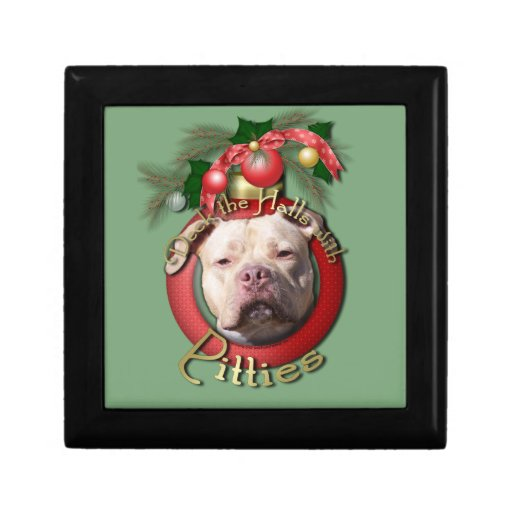 Christmas - Deck the Halls - Pitties - Jersey Girl Gift Box