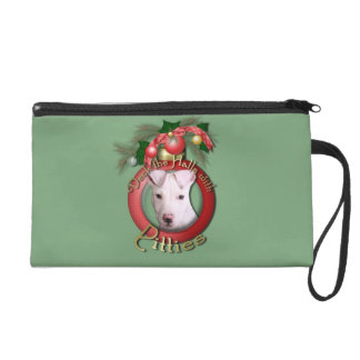Christmas - Deck the Halls - Pitties - Petey Wristlets
