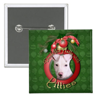 Christmas - Deck the Halls - Pitties - Petey Buttons