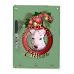 Christmas - Deck the Halls - Pitties - Petey Dry Erase Whiteboards